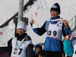 第32回宮様ジュニアジャンプ競技会(札幌 荒井山)